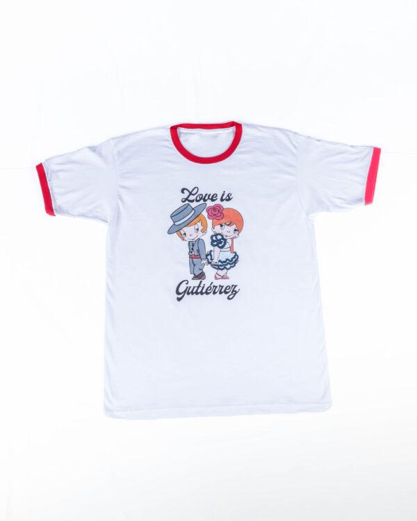 Camiseta Love is Gutiérrez D