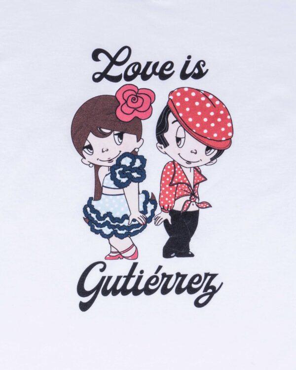 Camiseta Love is Gutiérrez B