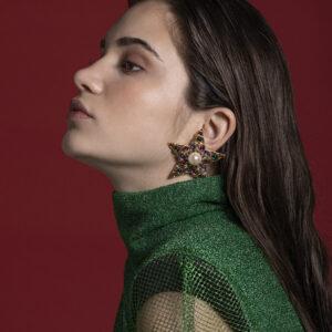 María Francés - Pendientes Estrella