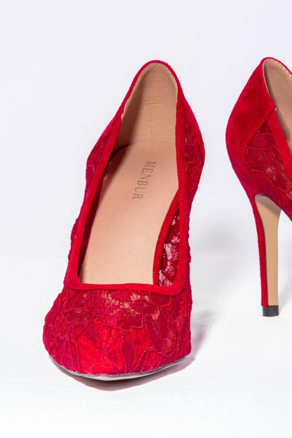 Zapato Salón Topos